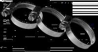 Хомут кислотостойкий W4 BRADAS 16-27мм Bradas