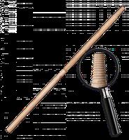 Черенок деревянный, лакированный IT (матричная резьба). Длина: 120 см Диаметр: 25 мм Bradas