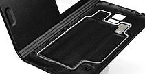 Чехол смарт для Samsung Galaxy S5 i9600 SM-G900 S-View белый, фото 2