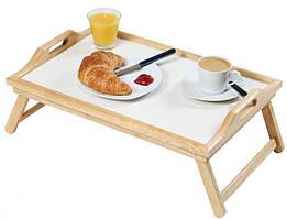 Складной бамбуковый столик для завтрака bamboo table