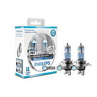 Галогенновые лампы PhilipsWhite Vision H4 12342whvsm