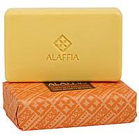 Alaffia, Мыло с маслом ши тройного размола, Сандаловое дерево и иланг-иланг, 5 унций (142 г)