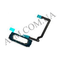 Шлейф (Flat cable) Samsung G900F/  G900H Galaxy S5 с кнопкой меню белая
