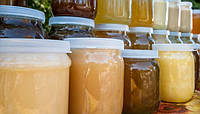 Мед натуральный разнотравье 0,5 л. 2016 года, с собственной пасеки.
