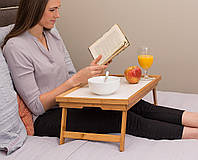 Столик из бамбука для завтрака