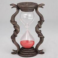 """Песочные часы """"Кобры"""" (15 см) Бронза Veronese (Италия)"""