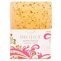 Pacifica, Натуральное мыло, Островная ваниль, 6 унций (170 г)
