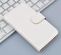 Кожаный чехол-книжка для Lenovo Vibe P1 белый