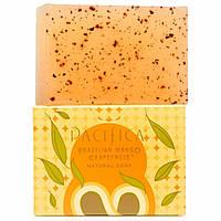 Pacifica, Натуральное мыло, Бразильский манго и грейпфрут, 6 унций (170 г)