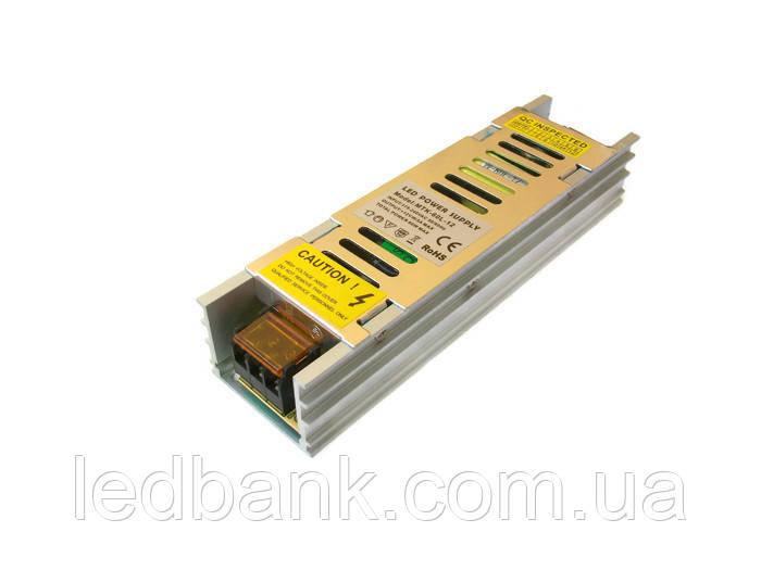 Узкий блок питания для светодиодной ленты MTR- 60W-12V 5A Premium