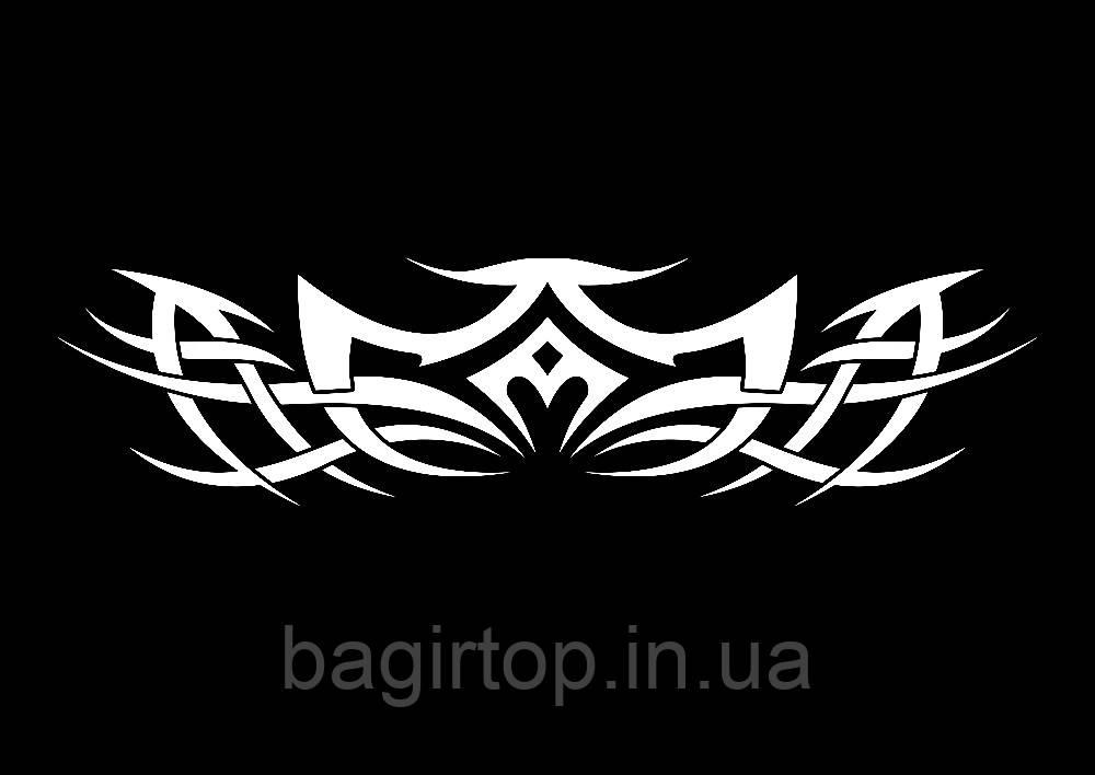 Виниловая наклейка - Узор 26