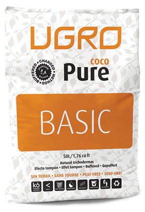 Непрессованный Кокосовый субстрат Ugro Pure Basic 50 л, фото 2