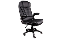 Офисный стул вращающийся Черный