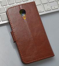 Кожаный чехол-книжка для Meizu Mx4 белый, фото 2