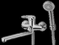 Смеситель для ванны с длинным гусаком Fina 106 ASCO armatura