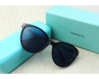 Женские солнцезащитные очки Tiffany & co (TF4061) black SR-482