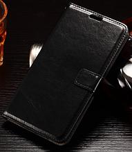 Кожаный чехол книжка для  LG Optimus G4 VS999 F500 H810 черный