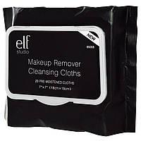 E.L.F. Cosmetics, Очищающие салфетки для снятия макияжа, 20 увлажняющих салфеток