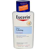 Eucerin, Успокаивающий уход для кожи с эффектом устранения зуда, без отдушек, 200 мл (6,8 жидких унций)