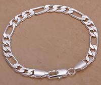 Серебрянный браслет 8мм 925 проба