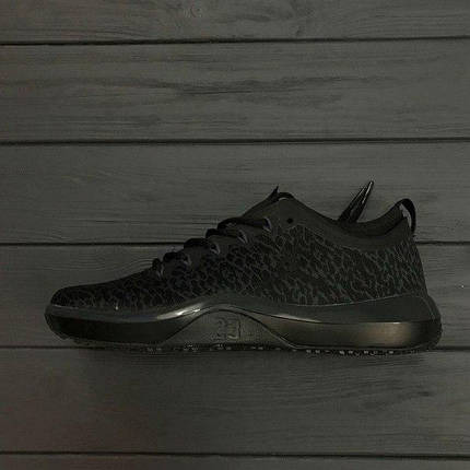 Мужские кроссовки Air Jordan Trainer Low New Black топ реплика, фото 2