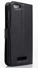Кожаный чехол-книжка для Cubot Note S красный, фото 2
