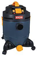 Пылесос для уборки сухого и влажного мусора, 30 л RYOBI VC30A