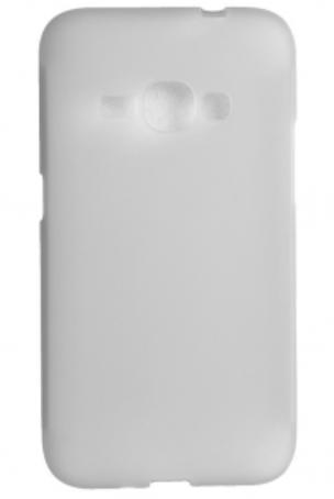 Чехол бампер для Samsung Galaxy J1 2016 J120 белый, фото 2
