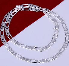 Цепочка Нежность серебро 925 проба 6мм. (покрытие)