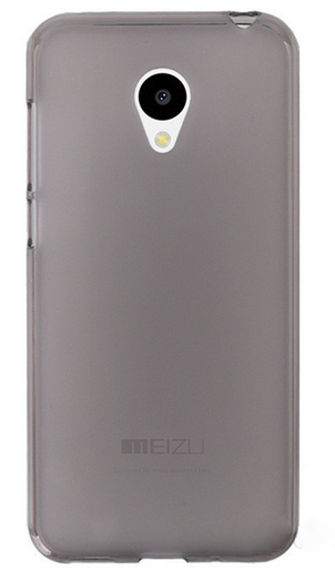 Чехол бампер для Meizu m3s/ m3 mini / m3 серый