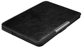 Кожаный чехол для Amazon Kindle Paperwhite 1 2 черный, фото 3