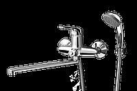 Смеситель для ванны с длинным гусаком Aurora 106 ASCO armatura