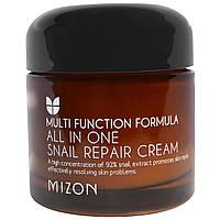 Mizon, Регенерирующий крем с улитками все в одном, 2.53 унций (75 мл)
