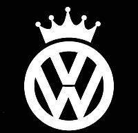 Виниловая наклейка на авто - значек (от 12х15 см)