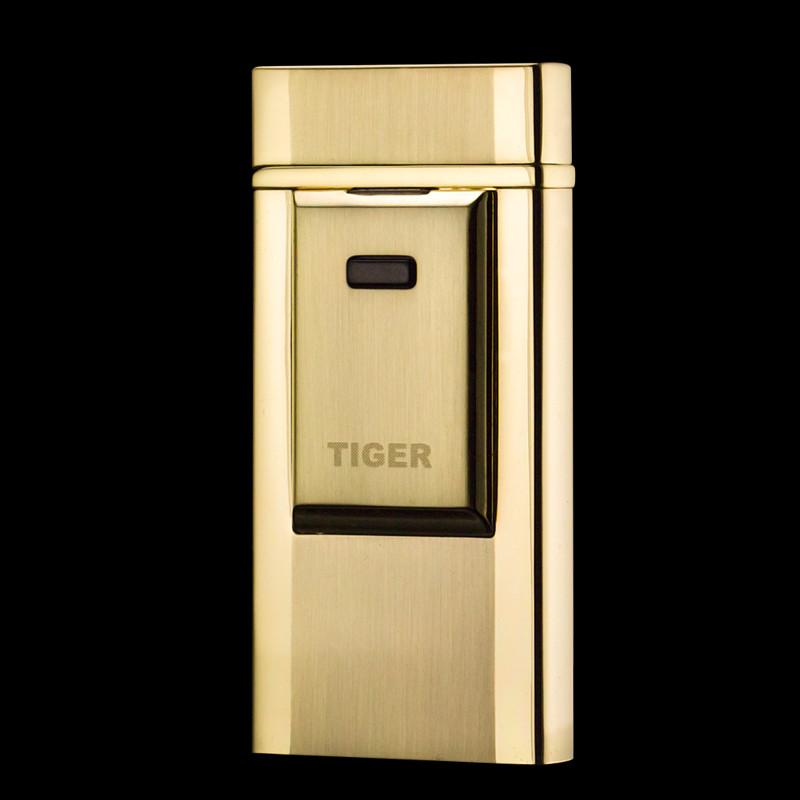 USB зажигалка TIGER Gold №4686 Gold (Электроимпульсная зажигалка)