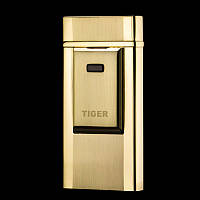 USB зажигалка TIGER Gold  (Электроимпульсная, Электронная, Электрическая)