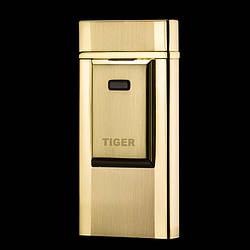USB зажигалка TIGER Gold (электроимпульсная) №4686