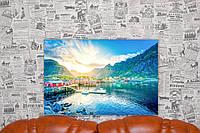 "Картина на холсте ""Лофотенские острова. Архипелаг в Норвегии. Природа"". 60х40 см."