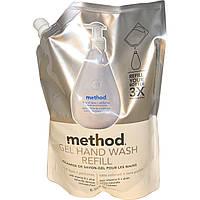 Method, Гель-мыло для рук в экономичной упаковке, без красителей и ароматизаторов, 34 жидких унции (1 л)