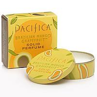 Pacifica, Бразильский манго и грейпфрут, твердые духи, 0,33 унции (10 г)