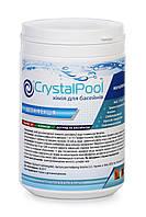Crystal Pool MultiTab 4-in-1 Large 1 кг-Медленнорастворимые таблетки хлора для продолжительной дезин, фото 1