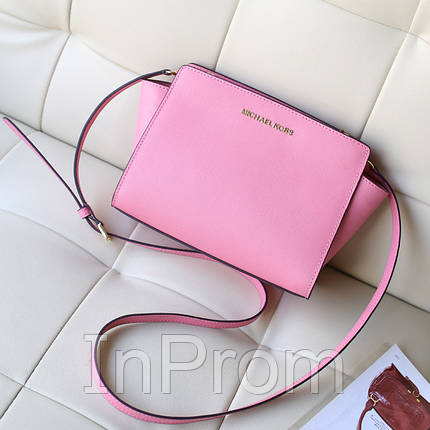 Сумка Michael Kors Selma Messenger Light Pink, фото 2