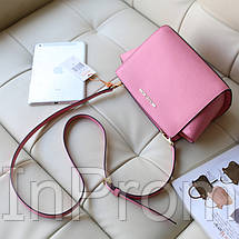 Сумка Michael Kors Selma Messenger Light Pink, фото 3