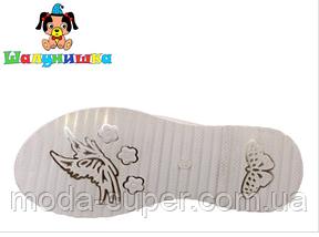 Сандалии со светодиодной (LED) подсветкой подошвы, для девочек  , фото 2