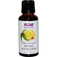 Now Foods, Эфирные масла, Эвкалипт лимонный, 1 жидкая унция (30 мл)