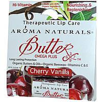 Aroma Naturals, Терапевтический уход за губами, вишня-ваниль, 4 г (0,15 унции)