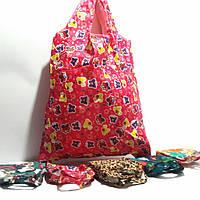 Экосумка складывающейся  в маленькую сумочку