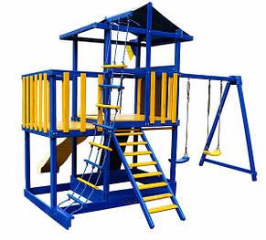Детский спортивно-игровой комплекс Бебиленд-11, фото 3