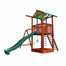 Детский спортивно-игровой комплекс Бебиленд-2, фото 3