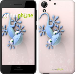 """Чехол на HTC Desire 630 Гекончик """"1094c-454"""""""